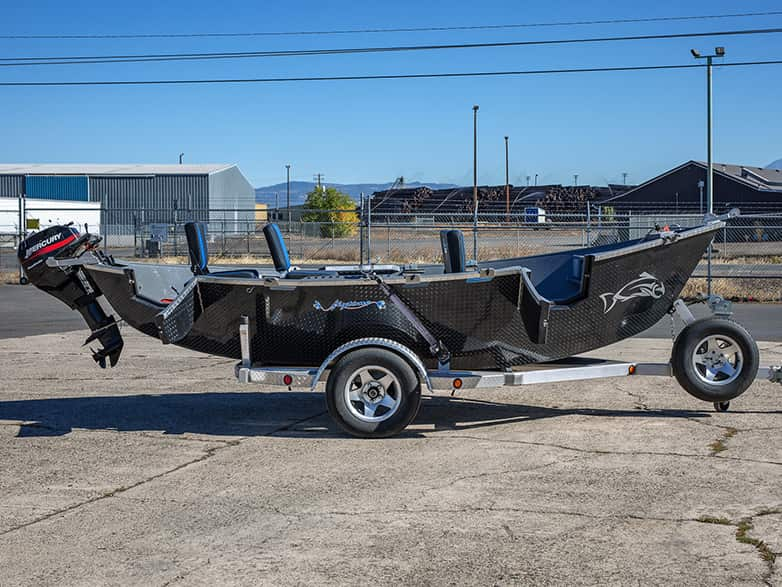 Black Diamondplate Guardian Drift Boat