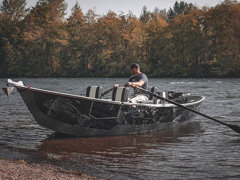 Black Kryptek Guardian Drift Boat