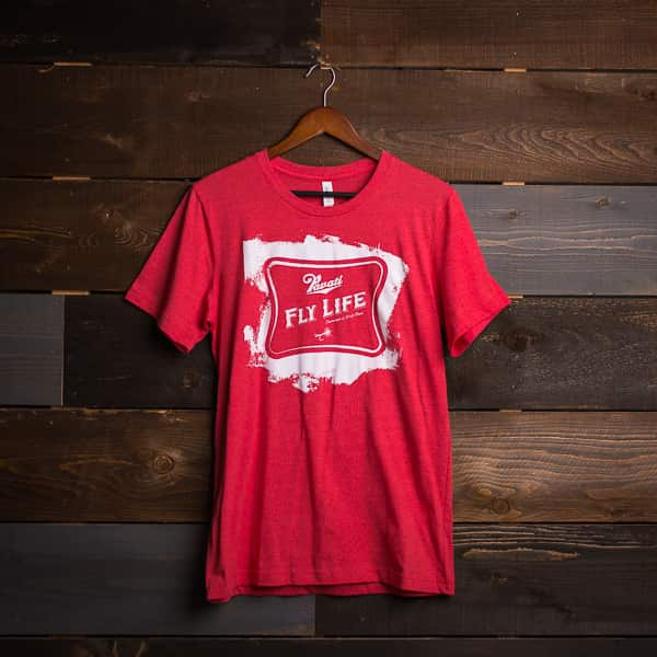 Pavati Wake Boats Product: Fly Life Tee (Red Triblend)