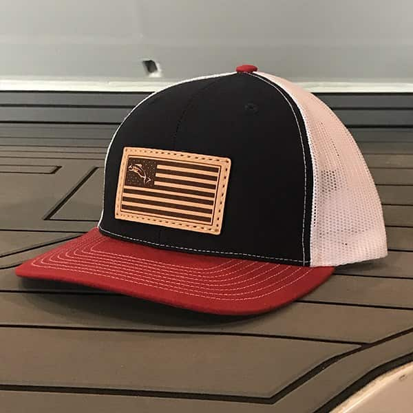 Pavati Wake Boats Product: Freedom Trucker (Red/White/Blue)