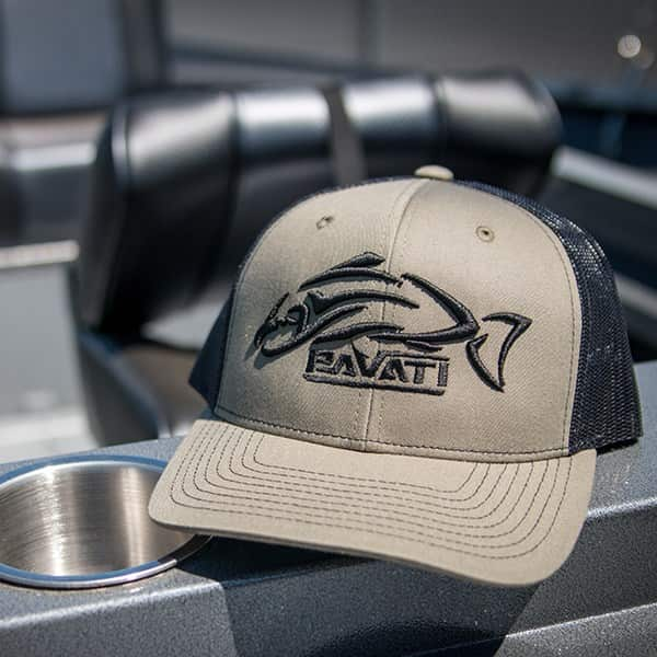 Pavati Wake Boats Product: Legacy Trucker (Olive/Black)
