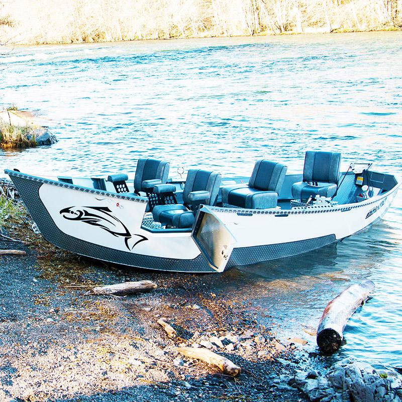 16 39 X 55 Pavati Drift Boat Drift Boats By Pavati Marine